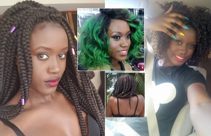 Becky Juuko also known as Slyner is wanted by police over her leaked pics