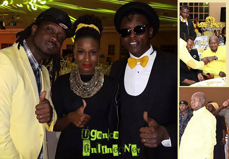 Bebe Cool, Juliana and Jose Chameleone