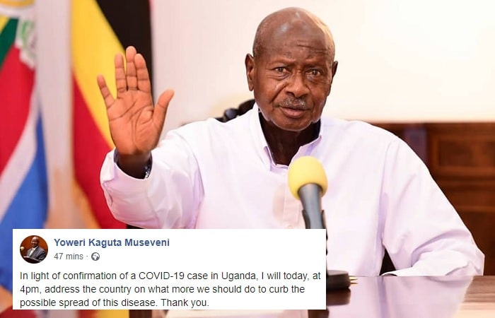 President Museveni in his latest update on Coronavirus has banned all passenger flights except for UN and cargo flights