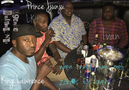 King Lawrence, LK4, Prince Jjunju and Ivan Ssemwanga