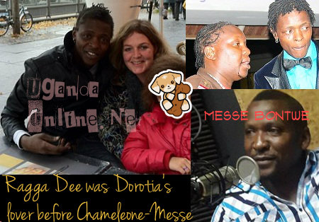 Chameleone and his ex, Dorotia, Ragga Dee and Messe