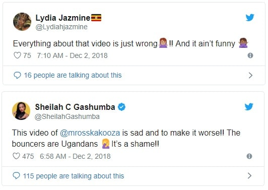 Lydia Jazmine and Sheila Gashumba's take on the Michael Ross Kakoza's incident