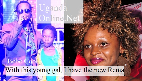 Bebe Cool showing off Ray C saying she was the new Rema in Gagamel