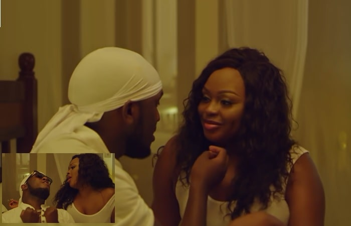 This is Love video by Rema and Ben