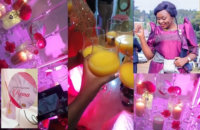 Rema Namakula could not believe how cute her Kukyala decor was