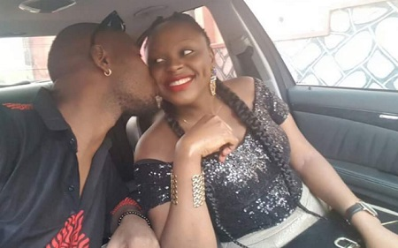Rema gets a hot one from her baby daddy