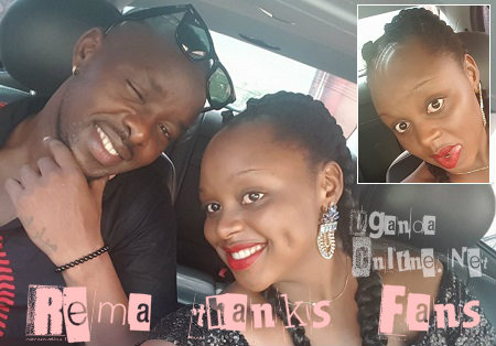 Kenzo and Rema as they drove to the birthday venue