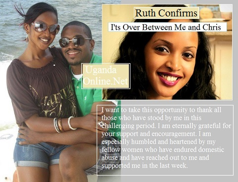Ruth and Chris in their happy moments