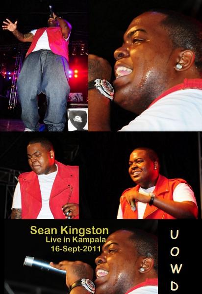Sean Kingston Performing in Kampala
