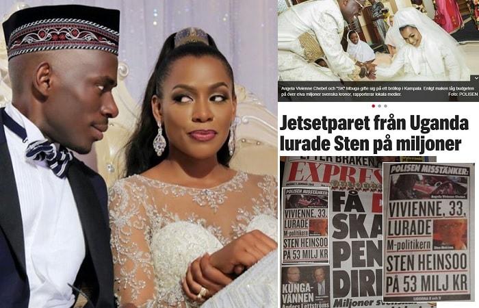 SK Mbuga and Jalia Mbuga making headlines in Sweden