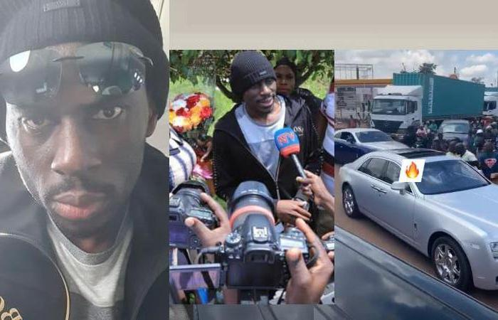 SK Mbuga is back home after being released from a Sweden prison