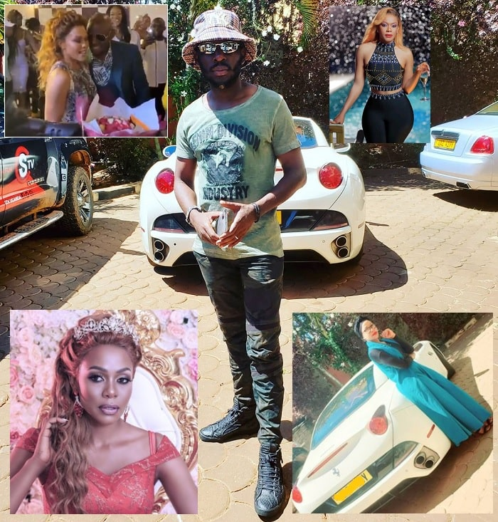 SK Mbuga and wife Vivienne hold scientific birthday bash