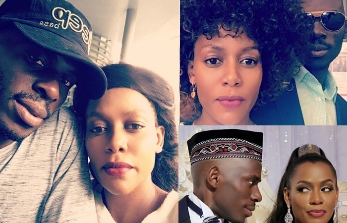 Different shots of SK Mbuga and hi wife