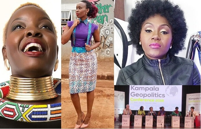 Santa Anzo blasted for standing with Barbie Kyagulanyi as a panelist at th Geopolitics conference