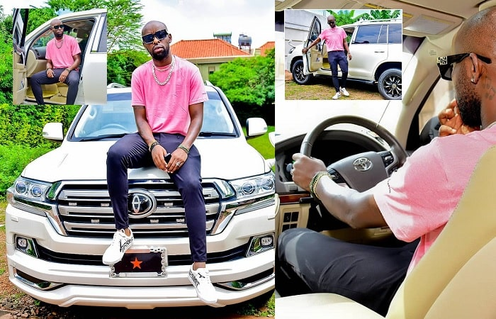 Eddy Kenzo shows off his monster ride