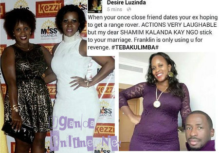 Desire Luzinda responds to Shamim dating Franklin