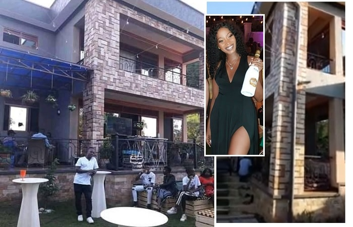 Sheebah Karungi at her Queendom mansion