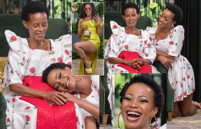 Sheebah Karungi and her mom