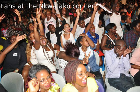 The fans at Sheebah Karungi concert