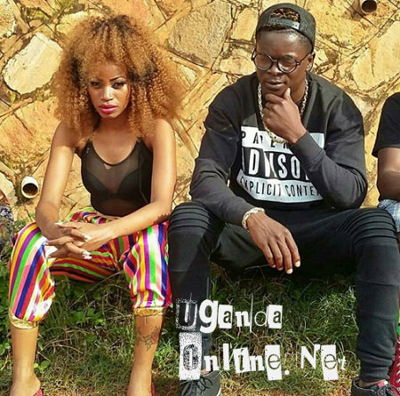 Sheebah Karungi and King Saha