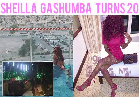 Sheila Gashumba turns 20