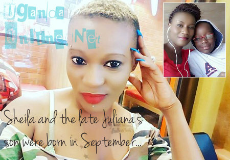 Sheila and the late Juliana's son, Keron, were born on September 20