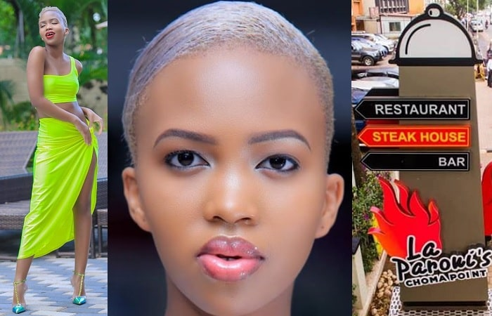 Sheila Gashumba suing La Paroni's Choma point for using her pic