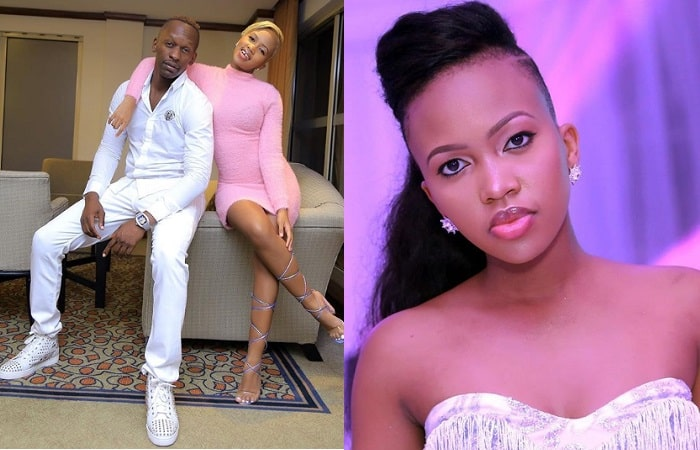 Sheila Gashumba and her lover Marcus Lwanga aka God's Plan