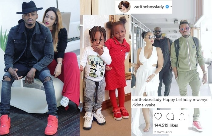 Zari disrespects Diamond Platnumz in birthday message