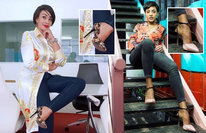 Zari assures her rivals that her shoes are too big to fill or too small to fit