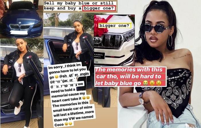 Tanasha Donna is thinking of replacing her BMW
