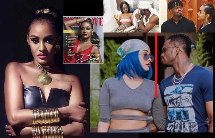 Tanasha Donna reveals that Diamond Platnumz long gave up on her