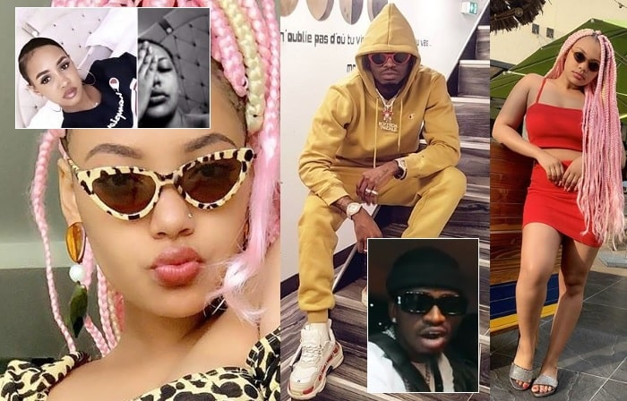 Diamond Platnumz and Lyyn were once an item, they are both in Dubai