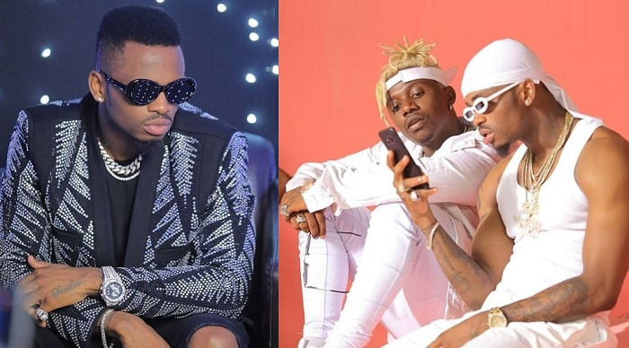 Diamond Platnumz and Rayvanny