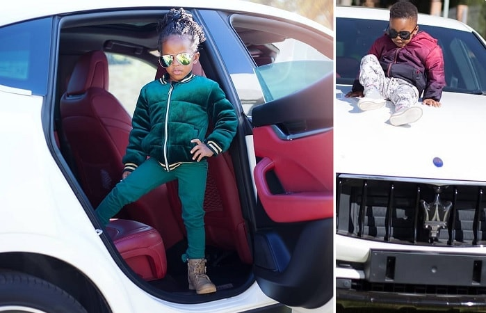 Tiffah and Nillan are in love with King Bae's white Maserati