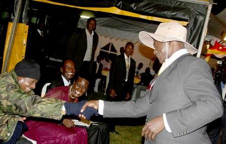President Museveni meets Herbert Segujja