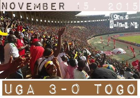 Uganda VS TOGO - November 15, 2015