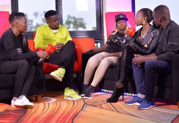 Sophie Gombya confirmed that they were handling John Blaq's issue
