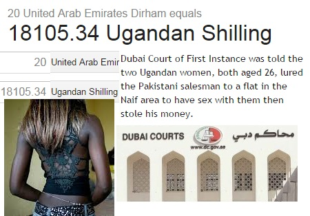 2 Uganda prostitutes steal over Shs 40 million from client