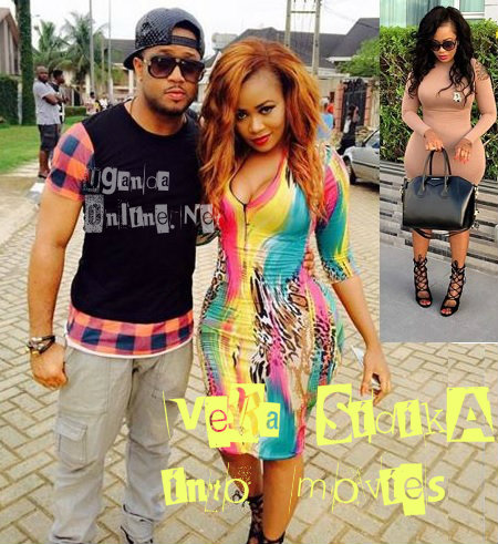 Mike Ezuruonye and Vera Sidika