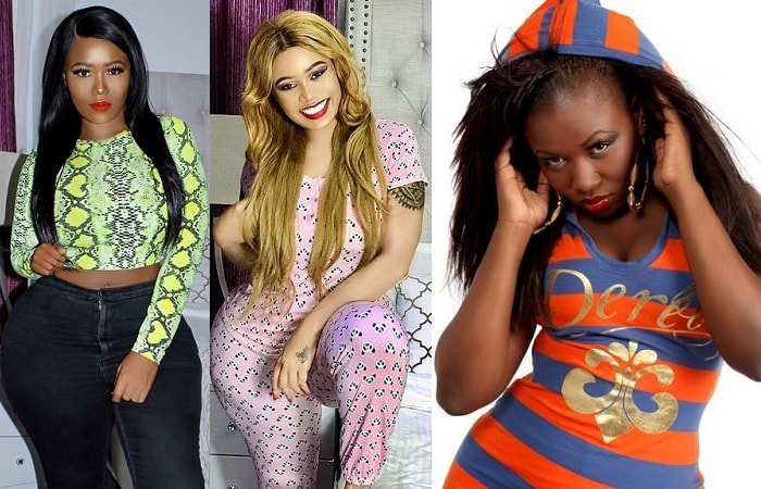 The three versions of Vera Sidika