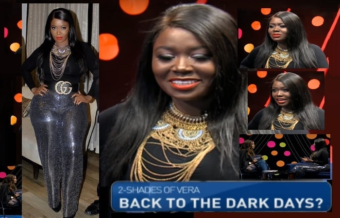 Vera Sidika on NTV Kenya's The Trend show