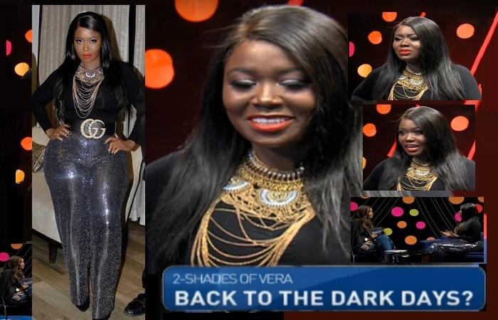 Vera Sidika on NTV Kenya's The Trend show