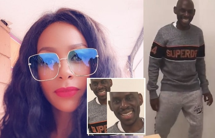 Vivienne Mbuga shares a clip of her hubby in a jovial mood