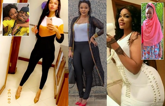 Wema Sepetu showing off her new size, she is now 65kgs