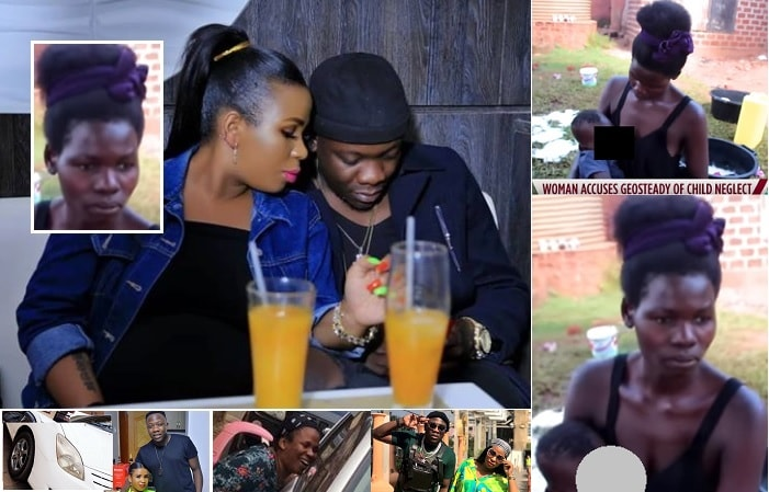 Geosteady and his wife and inset is the woman accusing him of child neglect