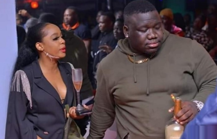 Zahara Totto and Big Papa who is armed with a cognac and a cigar