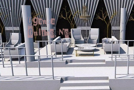 The Zari All White VVIP section