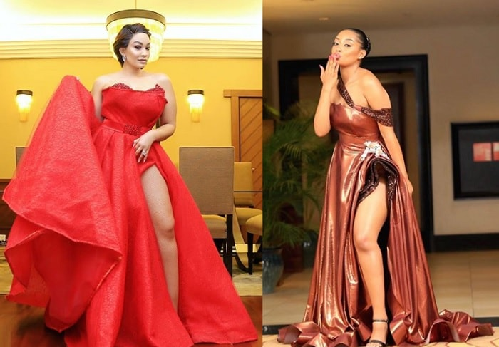 Zari Hassan and Anit Fabiola show off their outfits