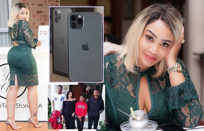 Zari buys her sons the latest iPhone 11 Pro smartphones